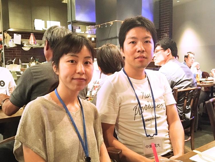 中津 真大さんと奥様
