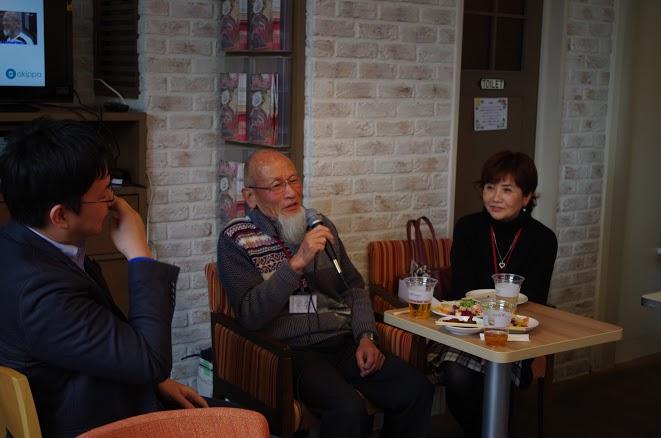 ↑セッション中の黒岩氏と中本氏