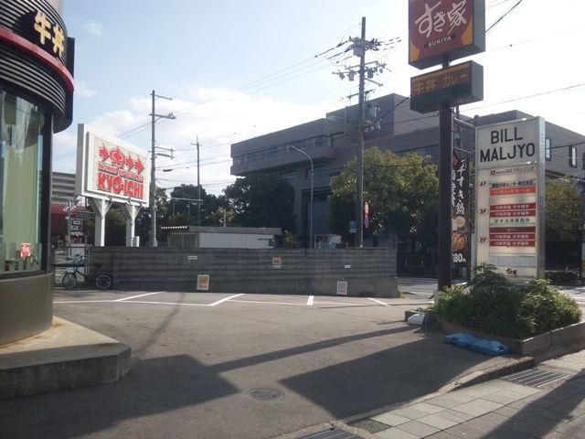 伏見稲荷大社まで18分、1.5kmの駐車場